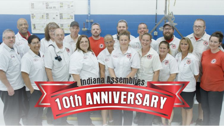 Indiana Assemblies Celebrates 10th Anniversary