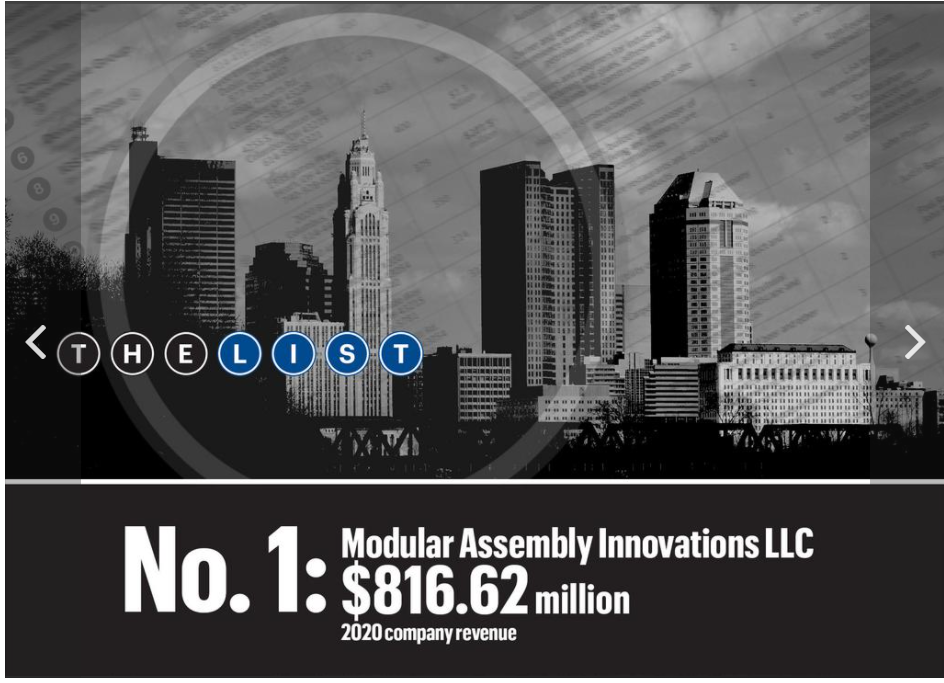 Modular Assembly Innovations Ohio Minority Owned